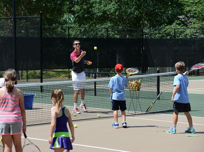 Community Highlights Tennis Clinics