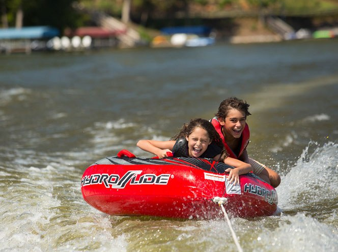Community Highlights Tubing
