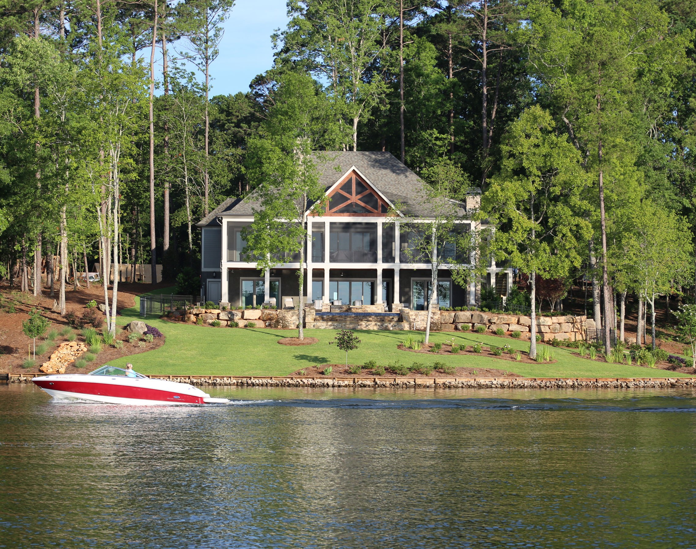 Real Estate Highlights Lakefront Homes