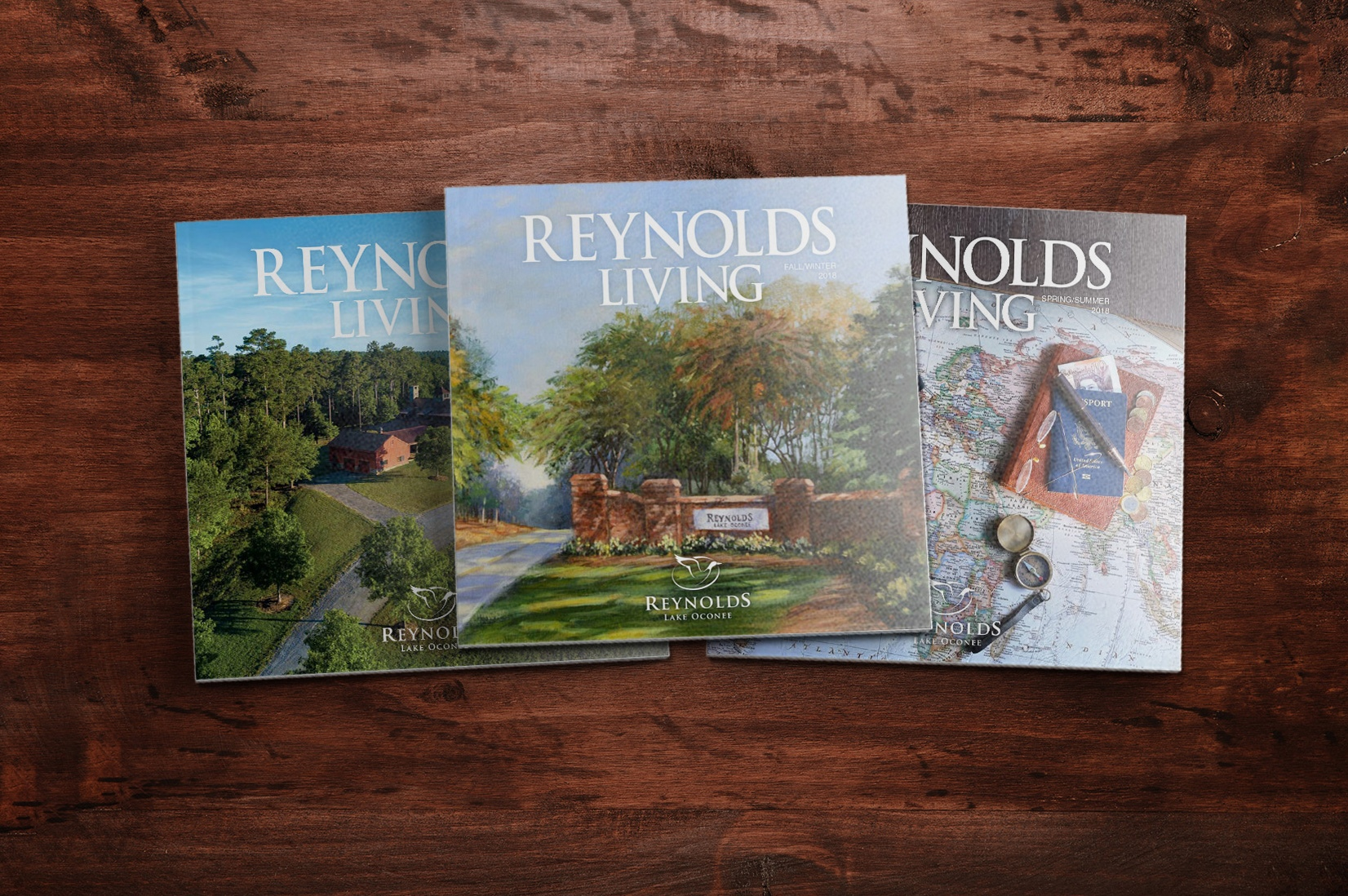Reynolds Living Magazine Recent Issues Landscape