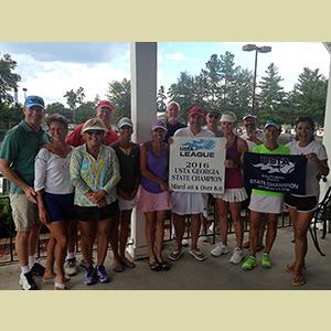 Bringing The Heat: Reynolds Tennis Receive State Titles